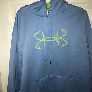 Under amor fleece hoodie
